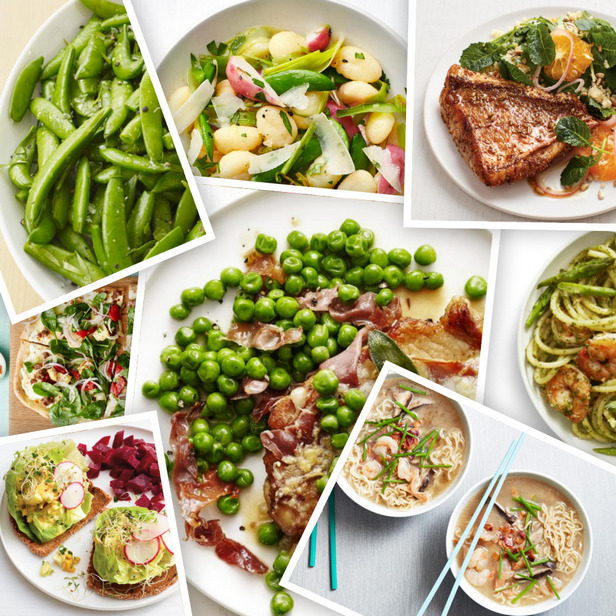 Весенние блюда для ужина в будний день