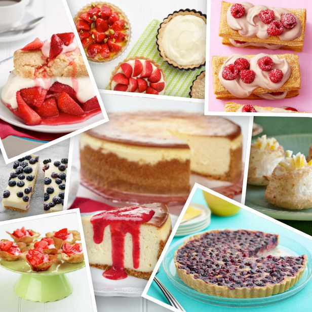 Фото Весенние фруктовые десерты