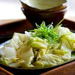 Стир-фрай из пекинской капусты