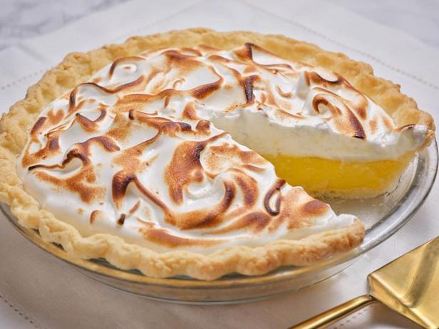 Фото Лимонный пирог без выпечки