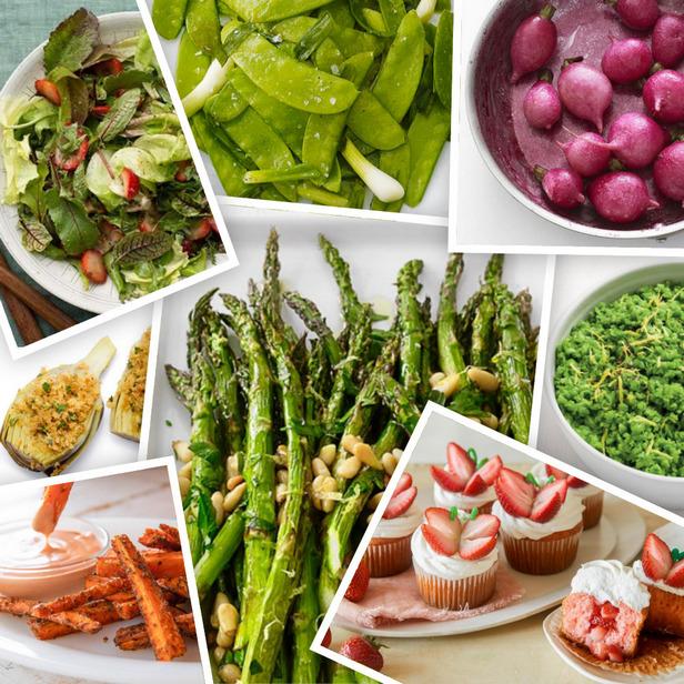 Фото Лучшие блюда из весенних овощей