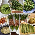 Лучшие рецепты из спаржи