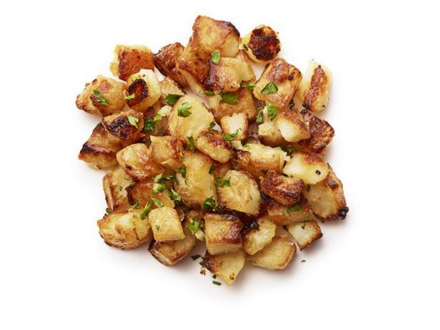 Фото Жареная картошка с чесноком
