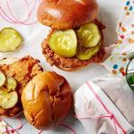 Сэндвичи с жареной курицей