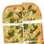 Пицца со спаржей