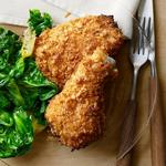 Хрустящая «жареная» курица в духовке