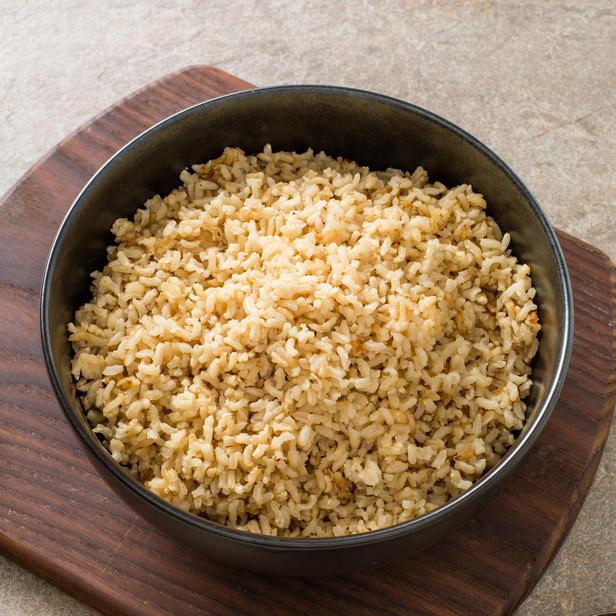 Фото Бурый рис в духовке