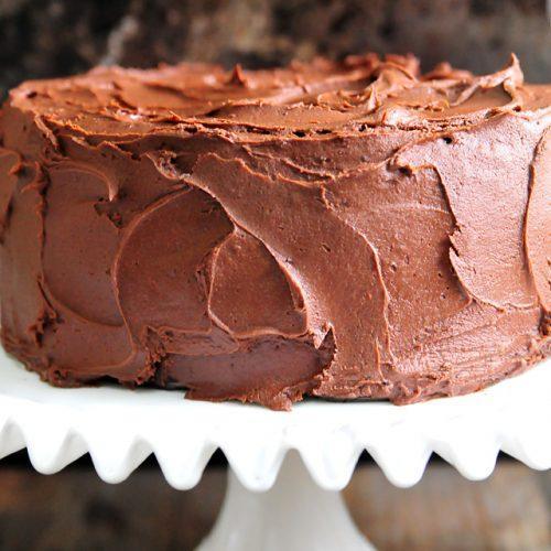 Фото Шоколадная глазурь для тортов