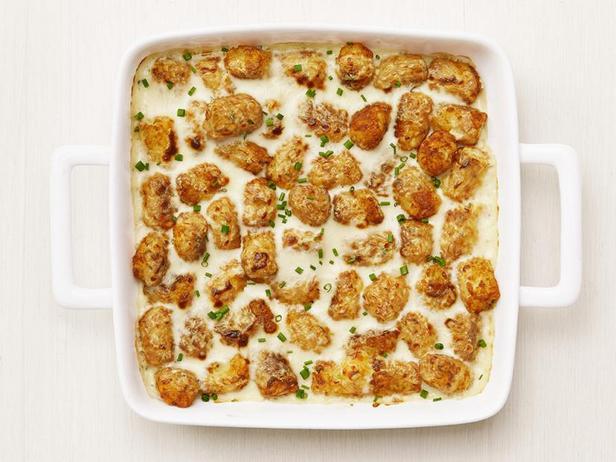 Фото Гратен из картофельных шариков