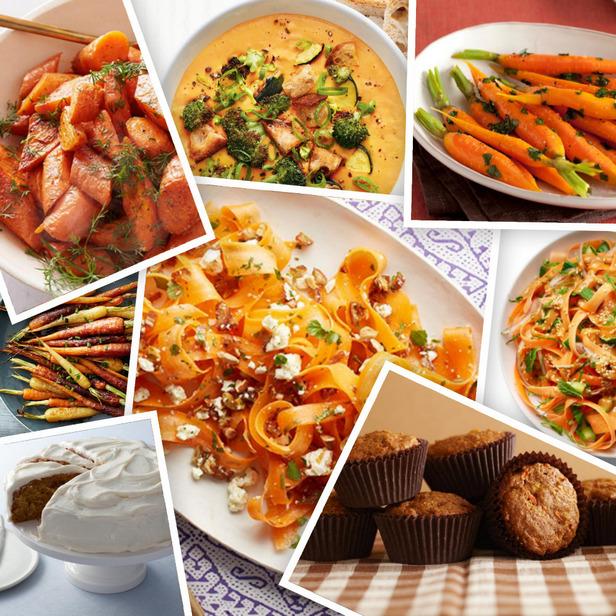 Фото 20 красочных блюд из моркови