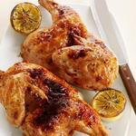 Курица с лимоном и чесноком в духовке