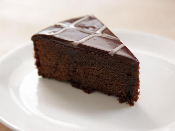 Фото Шоколадный пирог с ганашем