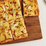 Пицца с картофелем и беконом