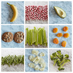 100 калорий в порциях продуктов