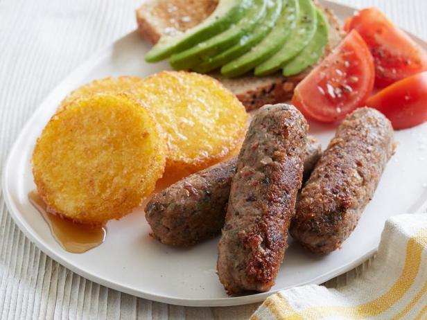 Фото Веганские колбаски из фасоли для завтрака