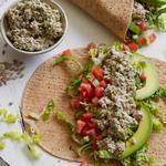 Веганский салат «с тунцом» из семечек