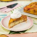 Пирог-перевёртыш с ревенем