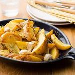 Картофель по-деревенски с розмарином