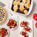 50 рецептов десертов с ягодами