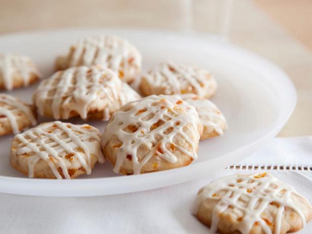 Миндальное печенье с курагой в глазури из Амаретто