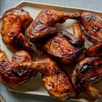 Курица, запечённая в духовке кусочками по-индонезийски
