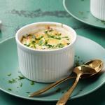 Яйца по-флорентийски в духовке (кетодиета)