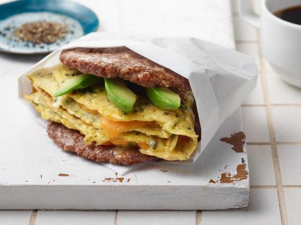 Фото Сэндвич для завтрака (кетодиета)