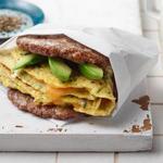 Сэндвич для завтрака (кетодиета)
