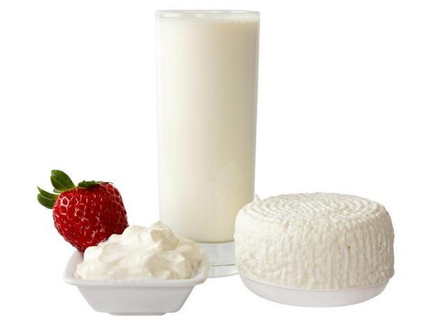 Маложирные или обезжиренные молочные продукты