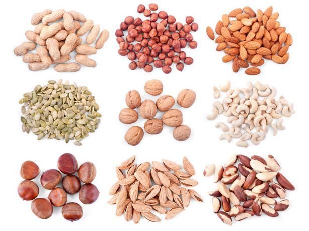 Орехи, ореховые пасты и семена