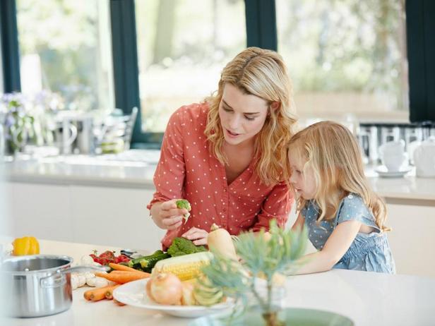 Фото Научите детей: 10 привычек здорового питания