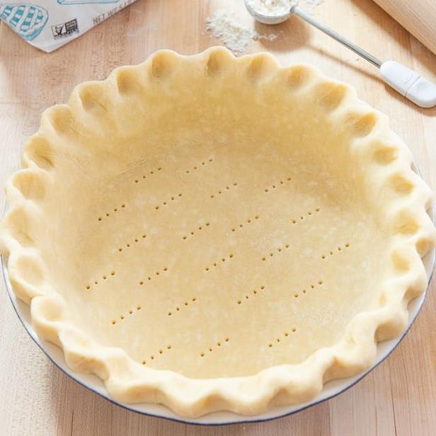 Песочный корж для американского пирога