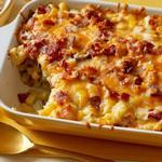 Запечённая картошка с сырной корочкой