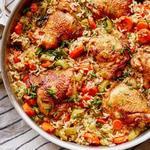 Самая вкусная курица с рисом