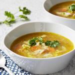 Суп-карри с курицей и рисом