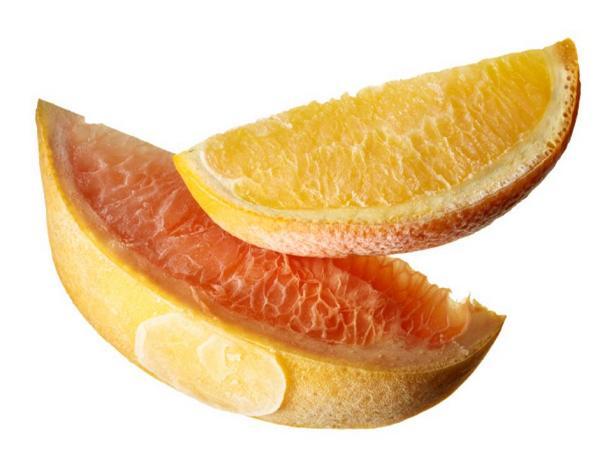 Дольки апельсина или грейпфрута