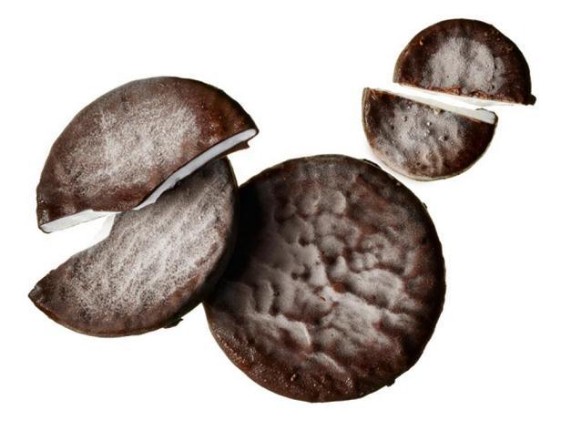 Шоколадно-мятные конфеты