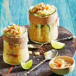 Эскитес: кукурузный салат в стакане