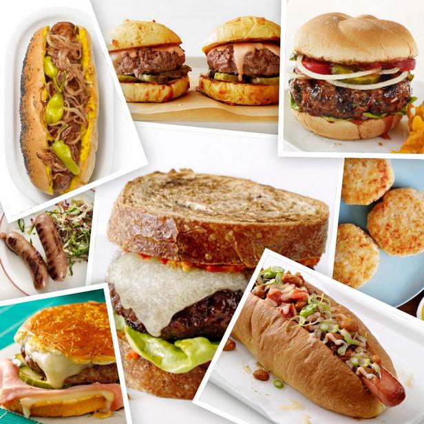 Фото Лучшие рецепты бургеров и хот-догов