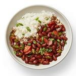 Красная фасоль с рисом по-новоорлеански