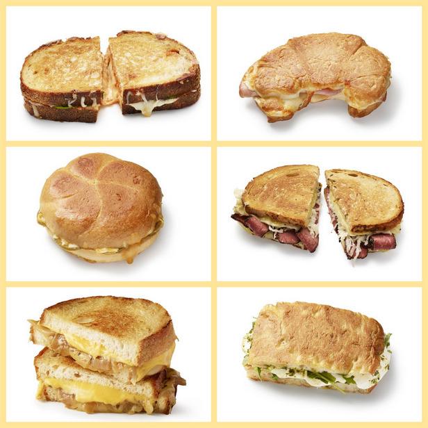 Фото 10 рецептов сырных тостов