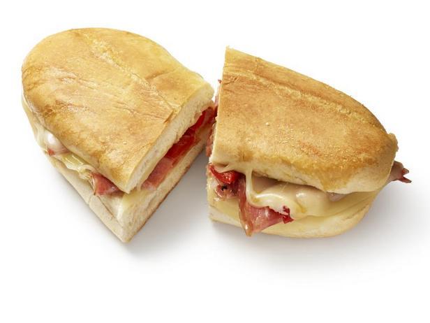 Итальянский сырный тост