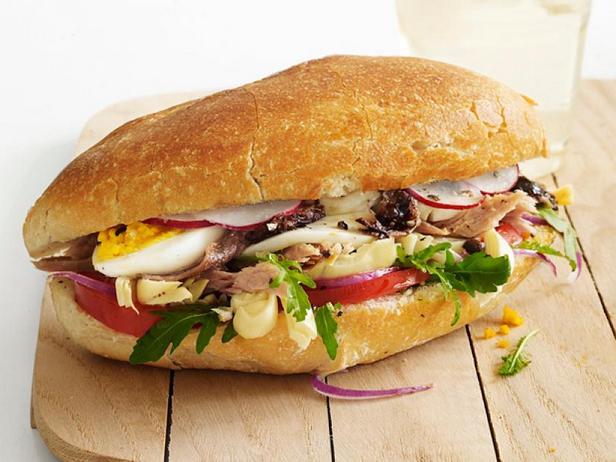 Парижские сэндвичи с тунцом