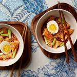 Рапокки: острая лапша с рисовыми клёцками