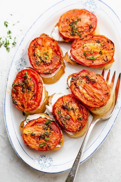 Фото Печёные помидоры