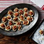 Моллюски ореганата в духовке