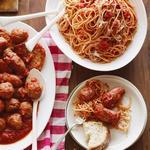 Спагетти с мясом в воскресной подливе