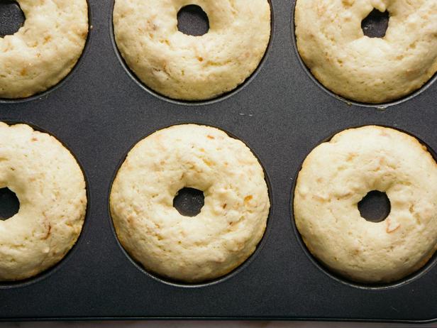 Пончики с кокосом и миндалём в духовке