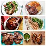 Лучшие рецепты свиной корейки на гриле