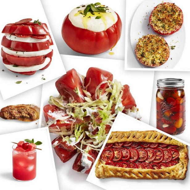 Фото 11 летних рецептов с помидорами